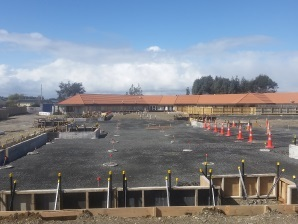 foundation placing with Supreme Site Works- Southland